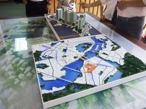 Khu đô thị sông Hồng thu nhỏ dạng bản đồ_cty Hanco 9