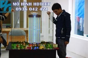 Mô hình dự án Cổ Nhuế Tower_137 Nguyễn Ngọc Vũ_Cengroup