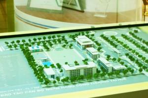 Mô hình phòng truyền thống Vietinbank 108 Trần Hưng Đạo