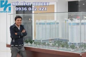 Mô hình quy hoạch tổ hợp chung cư TPD_Bình Dương_137 Ng Ngọc Vũ,cengroup