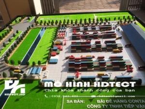 Mô hình bãi để hàng số 3 Cảng Đình Vũ_Đông Hải 2_Hải Phòng
