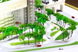 Mô hình trụ sở Vietinbank_Norman Foster