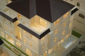Dự án 3 biệt thự mẫu có đèn trưng bày Vietbuild 2014_citylandriverside