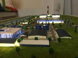 Mô hình dự án Thủy điện Nghi Sơn – Lilama 69