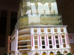 Mô hình dự án Trụ sở Tập đoàn đá quý Doji