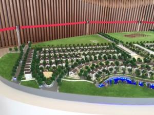Mô hình khu đô thị Vinhomes Nam An Khánh