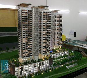 Mô hình dự án Đô thị mới Hải Phòng – Vũ Yên