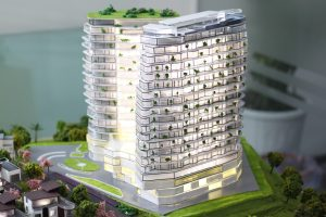 Mô hình dự án khu biệt thự khách sạn Vườn Phượng Hoàng _ Tập đoàn Investcom