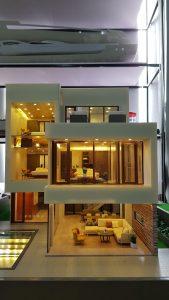 Mô hình dự án nội thất biệt thự resort Shilla – Quảng Nam