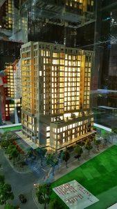 Mô hình dự án 345 Đội Cấn Tower – Tập đoàn Thành Công