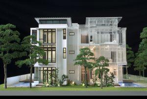 Nhanlammohinh – Mô hình dự án Biệt thự Vũ Yên