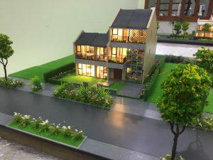 Mô hình biệt thự Mẫu DL3-1, BT2-4  Quảng Nam