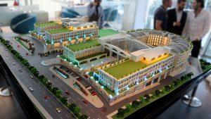 Mô hình dự án khách sạn sân bay Hồ Tràm