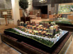 Mô hình thu nhỏ thành phố Sinsas Thổ Nhĩ Kỳ